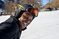 V.i: Photo Story: Bahati goes skiing